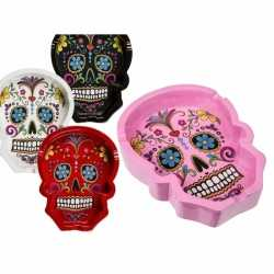 Day of the dead asbak wit 10