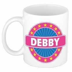 Debby naam koffie mok / beker 300 ml