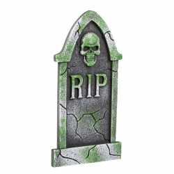 Decoratie halloween grafsteen schedel 40