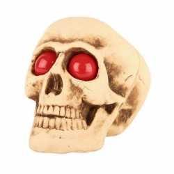 Decoratie halloween schedel lichtgevende ogen