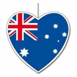 Decoratie hart Australie 14