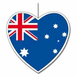 Decoratie hart Australie 30