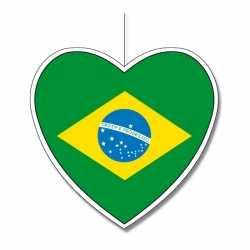 Decoratie hart Brazilie 30