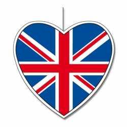 Decoratie hart Engeland 30