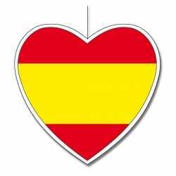 Decoratie hart Spanje 30