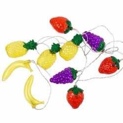 Decoratie led verlichting fruit 200
