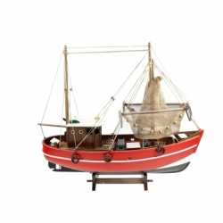 Decoratie model vissersboot 45