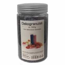 Decoratie steentjes zwart 500 gram