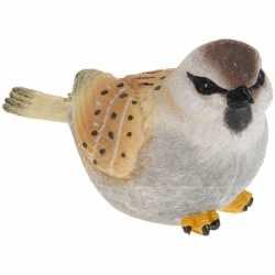 Decoratie vogeltje mus 17
