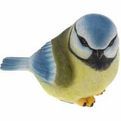 Decoratie vogeltje Pimpelmees 17