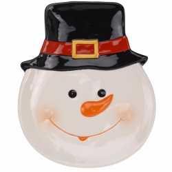 Decoratiebord sneeuwpop 24