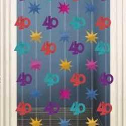 Deurgordijn 40 jaar