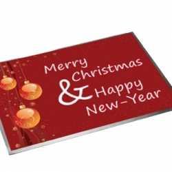 Deurmat Kerstmis Nieuwjaar