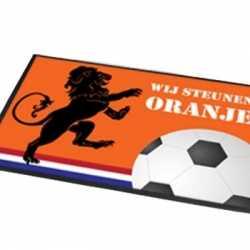Deurmat Wij steunen Oranje