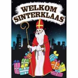 Deurposter Sinterklaas A1