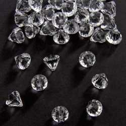 Diamantjes transparant 12 mm