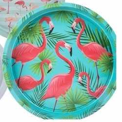 Dienblad flamingo palm 33