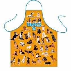 Dieren schort honden print