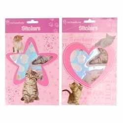 Dieren sticker boekje kittens