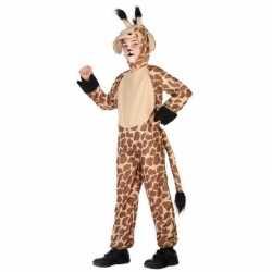 Dierenpak verkleed kostuum giraffe kinderen