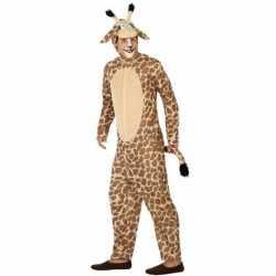Dierenpak verkleed kostuum giraffe volwassenen