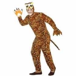 Dierenpak verkleed kostuum tijger volwassenen