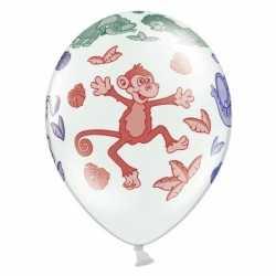 Dierentuin dieren ballonnen 12 stuks