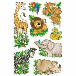 Dierentuin vriendjes stickers 3 vellen