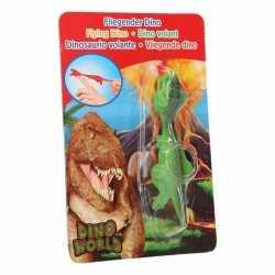 Dino world mini dino katapult t rex groen