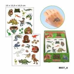 Dinosaurus plak tattoos jongens dino world