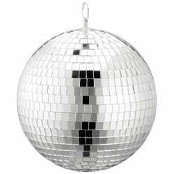 Disco spiegel bal zilver 20