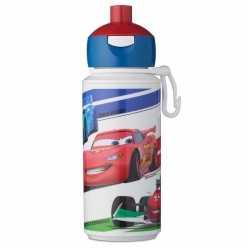 Disney cars anti lek pop up drinkfles/schoolbeker 275 ml