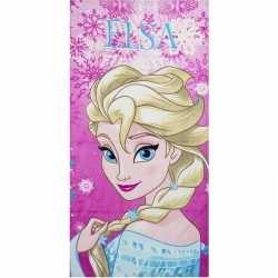 Disney frozen elsa badlaken/strandlaken roze 70 bij 140