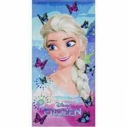 Disney frozen elsa vlinders badlaken/strandlaken 70 bij 140