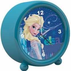 Disney frozen kinder wekker/klokje blauw 11,5 bij 12