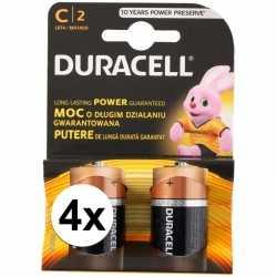 Duracell batterijen cr/lr14 8 stuks
