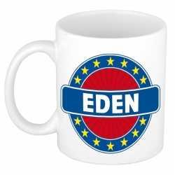 Eden naam koffie mok / beker 300 ml
