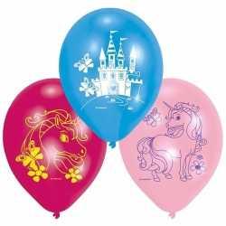 Eenhoorn thema ballonnen 12x stuks