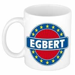 Egbert naam koffie mok / beker 300 ml