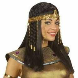 Egyptische hoofdband gouden kralen