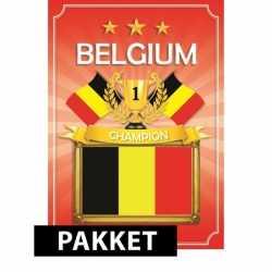 EK Belgie feestartikelen pakket