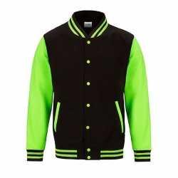 Electric Varsity jack fluor groen