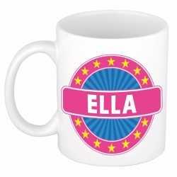 Ella naam koffie mok / beker 300 ml