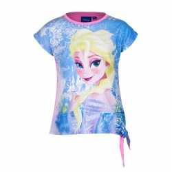 Elsa t shirt roze meisjes
