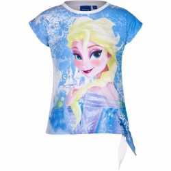 Elsa t shirt wit meisjes