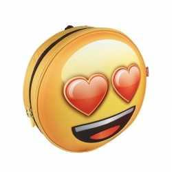 Emoji 3d rugtas liefde emoticon kinderen