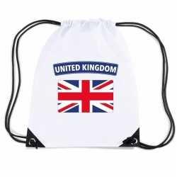 Engeland nylon rugzak wit engelse vlag