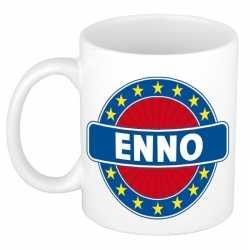 Enno naam koffie mok / beker 300 ml