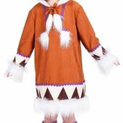 Eskimo kostuum meiden