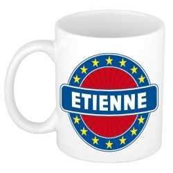 Etienne naam koffie mok / beker 300 ml